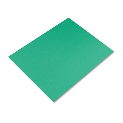 Pacon Colored Four-Ply Poster Board, 28 x 22, Holiday Green, (Colored Four Ply Poster Board)