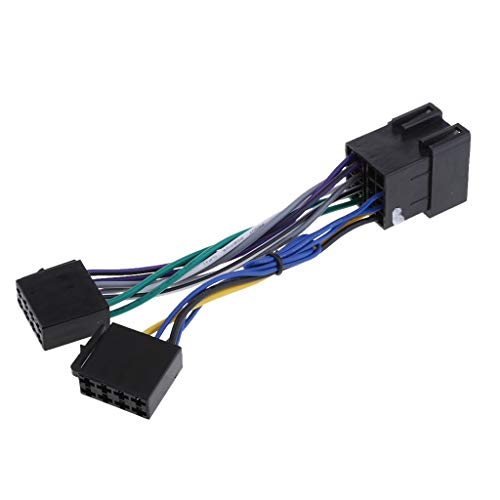 ISO Stereo Headlight Harness Adapter Wiring Loom for: Amazon.co.uk: Camera & Photo
