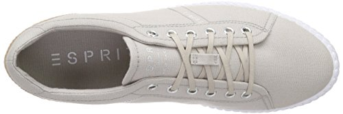 Esprit Silvana Lace Up - Zapatillas Mujer Beige - Beige (040 light beige)