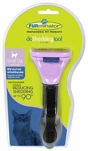 Furminator Central Small DeShedding Short Hair Cat