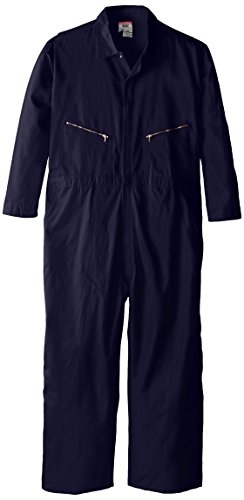 Walls Work Men's Big-Tall Long Sleeve Twill Coverall, Navy, 50/Small -