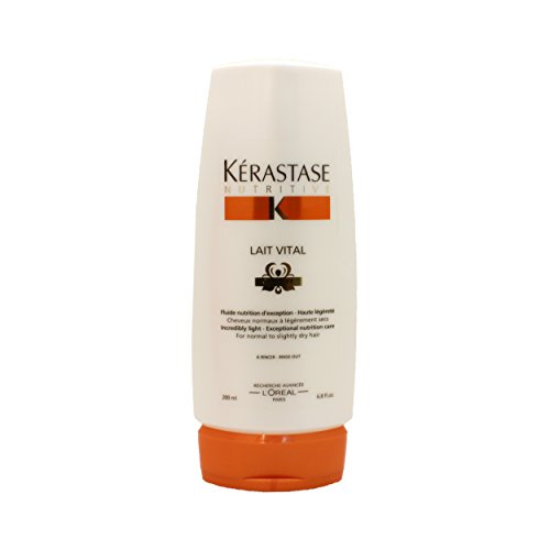 Kerastase Nutritive Lait Vital 1 Incredibly Light Nourishing Care For Normal to Slightly Dry Hair, 6.8 Ounce