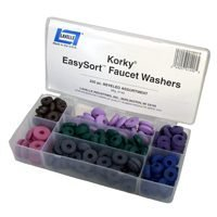 Lavelle Industries 000149 Korky Easysort 200-Piece Faucet Beveled Washer Kit by Lavelle