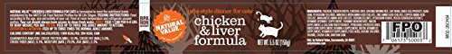 Natural Value Pate Style Chicken and Liver Dinner Cat Food, 5.5 Ounce Cans (Pack of 24)