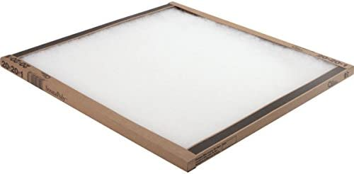16x20x1 Polyester Air Filter Merv 5 Box Of 12
