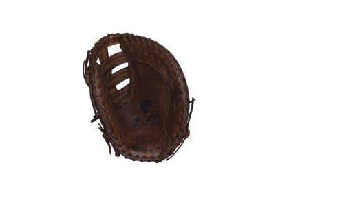 Basemans Mitt First Baseball (Wilson Game Ready Soft Fit First Base Baseball Glove (Brown), Left Hand Throw, 11.5