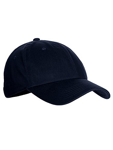 Is&Was Classic Baseball Youth Kid Dad Hat Plain Cotton Low Profile Adjustable Cap - Navy, 5 yrs - 10 yrs from Is&Was