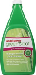 Nature's Miracle Green Leaf Hydorgen Perozide Carpet Shampoo, 24 oz (Homemade Carpet Cleaner compare prices)