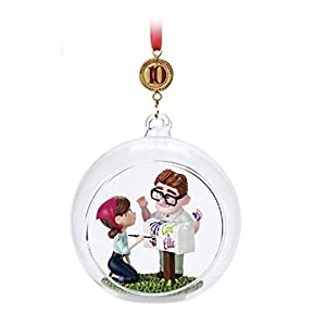 Disney 2019″ UP 10th Anniversary Carl and Eillie Sketchbook Ornament