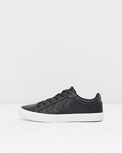 Erwachsene Deuce Tonal Court weiß schwarz Sneaker Unisex Hummel 7Aqx5
