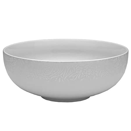 Denby Monsoon Lucille Silver 3.5 Pint Serving Bowl MLS-110: Amazon ...
