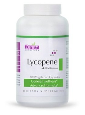 Zenith Nutrition Lycopene with Multi Vitamins | General Wellness | Vegetarian Dietary Supplements, 300 Capsules