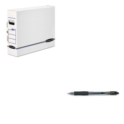 Box Bankers X-ray (KITFEL00650PIL31020 - Value Kit - Bankers Box X-Ray Storage Box (FEL00650) and Pilot G2 Gel Ink Pen (PIL31020))