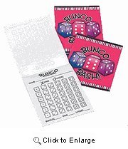 Bunco Score Sheets - 3 Tablets by Bunco Game Shop