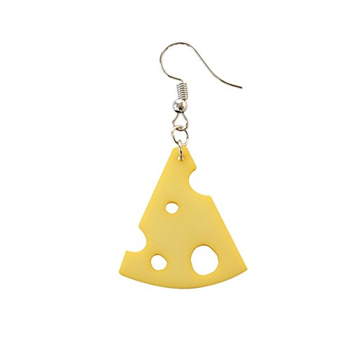 JUESJ Geometric Simple Cream Cheese Earrings For Girls Birthday Party Gifts (3)