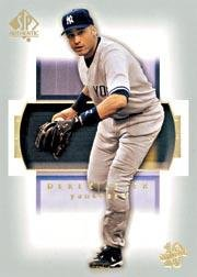 2003 Sp Authentic Card - 2003 SP Authentic #39 Derek Jeter Near Mint/Mint