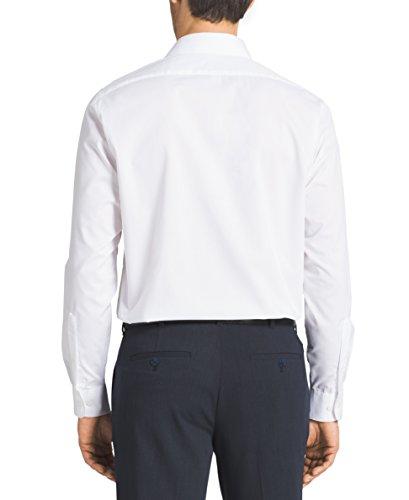 4368151ac06a Van Heusen Men's Herringbone Regular Fit Solid Spread Collar Dress Shirt