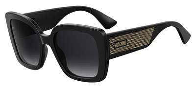 Sunglasses Moschino Mos 16 /S 0807 Black / 9O dark gray gradient lens ()