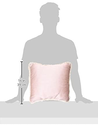 Glenna Jean Victoria Pillow with Cord Mocha Dot 11115
