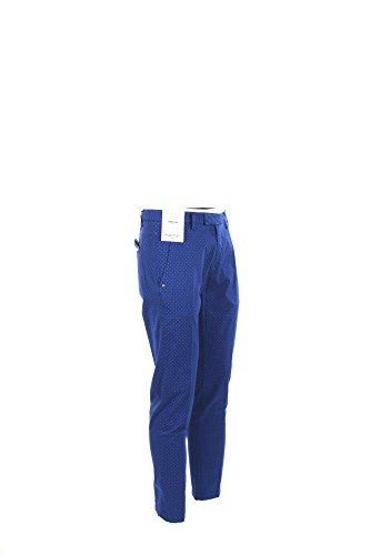 Pantalone Uomo Camouflage 32 Blu Fred Tww Tdr Primavera Estate 2017