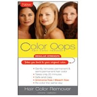 Color Oops Regular Strength Hair Color Remover, rs100-1 Ea, 1 Oz (B4 Hair Colour Remover Before And After)