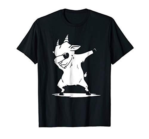 - Dabbing Goat T-Shirt Funny Farm Animal Dab Dance Lover Gift