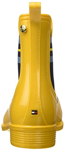 Gold 7r Hilfiger Tommy Botines Mujer 700 para O1285dette Amarillo Old A8qwTnqa