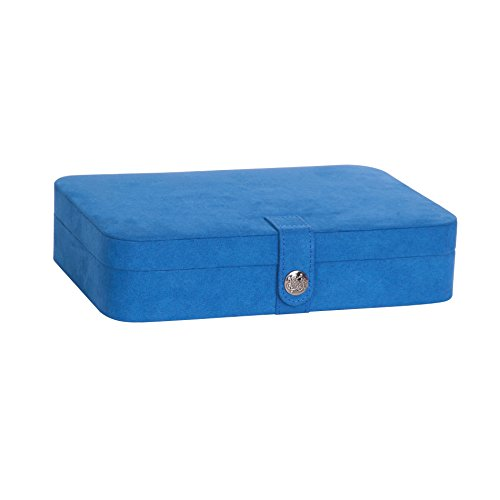 mele-co-celia-plush-fabric-jewelry-box-royal-blue