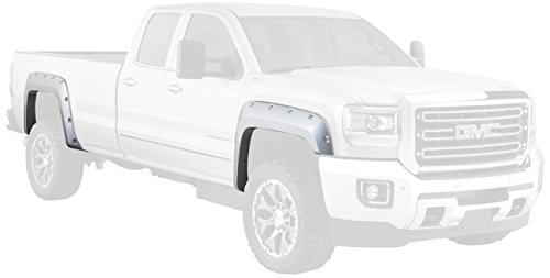 Bushwacker 40967-02 Pocket Style Fender Flare for GMC, (Set of 4)