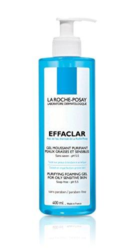 La Roche-Posay Effaclar Facial Cleanser for Oily Skin Purifying Foaming Gel Face Wash 13.5 Fl. Oz