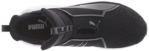 PUMA Women's Fierce Eng Mesh Cross-Trainer Shoe, Black White, 9.5 M US by PUMA (Image #8)