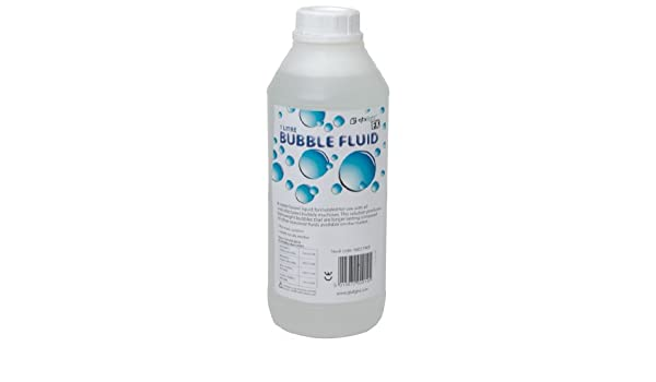 Amazon Com Skytronic Bubble Fluid For Bubble Machines 1 Litre Musical Instruments
