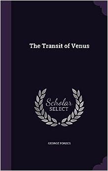 Book The Transit of Venus