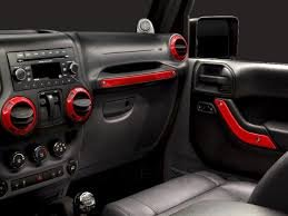 2011-2013 Jeep Wrangler 2 Door Mopar Interior Trim Kit-Flame Red (Mopar Interior Trim Kit compare prices)