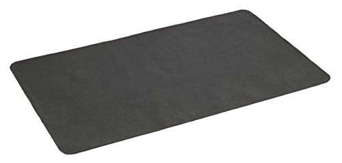 Diversitech Outdoor Gas Grill BBQ Floor Mat - Absorbent, Place Under Grill - Protects Decks and Patios 48 x 30 Inches Black (Renewed)