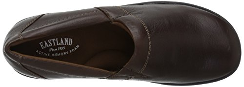 Eastland Womens Constance Ultralight Slip On Clog Brown