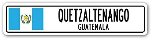 EpochSign Quetzaltenango Guatemala - Señal de Aluminio para Calle ...