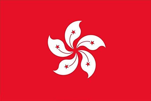 Laminated Poster Hong Kong Flag China Chinese Konger Han City Hk Poster Print 24 x 36 from Home Comforts