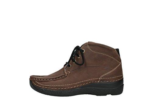 Wolky Donna Sneaker Cognac 11430 Nubukleder 887xrq