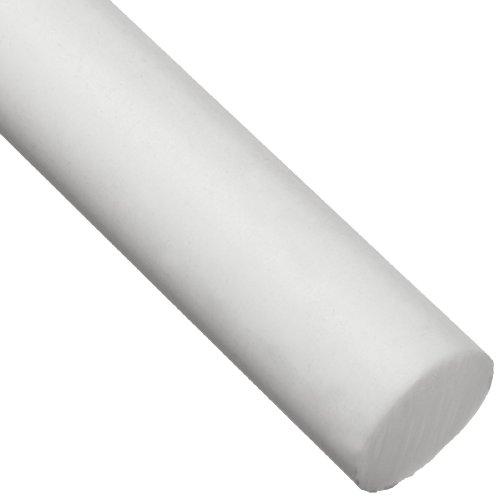PTFE (Polytetrafluoroethylene) Round Rod, Opaque