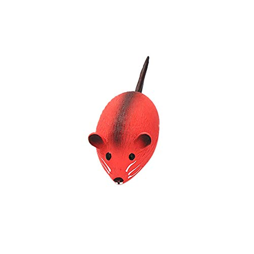 - Lomsarsh Pet Cat Toy Mouse Shape Emulsion Toy Three Color Interactive Latex Mouse Toy