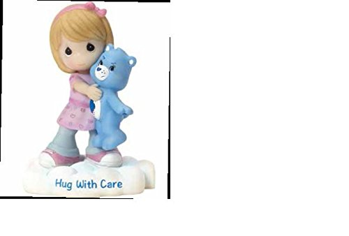 (Precious Moments Company 163416 Precious Moments, Care Bears, Hug with Care, Resin Figurine, 163416,Multi)