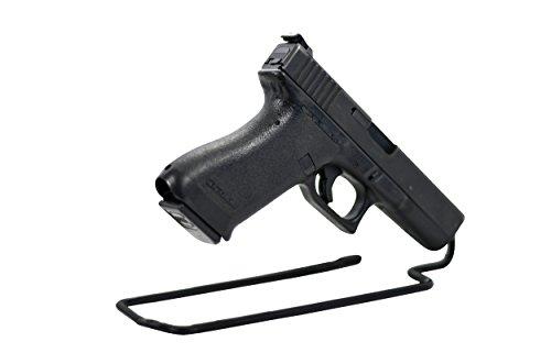 Pistol Stand - BOOMSTICK Gun Accessories Stand Style Vinyl Coated Metal Handgun Pistol Rack (Pack of 3)