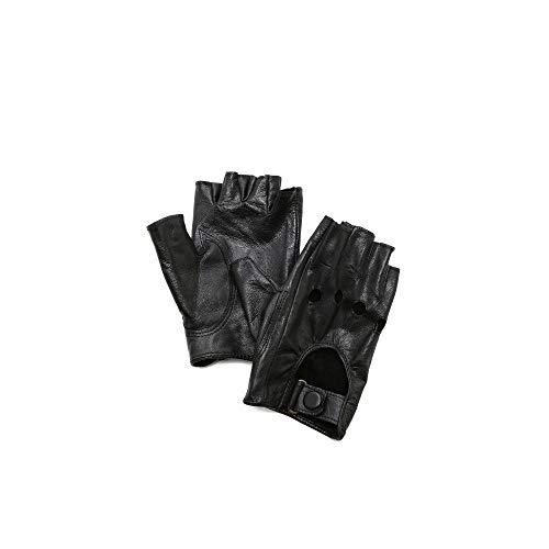 コンテンポラリーブリリアント文献(キャロライナアマート) Carolina Amato レディース 手袋?グローブ Fingerless Moto Gloves [並行輸入品]