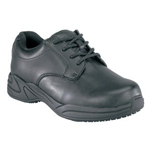 Work Shoes, Pln, Womens, 11-1/2, Black, 1PR by Grabbers