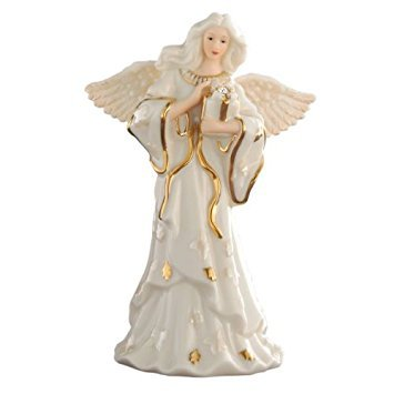 Lenox My Own Guardian Angel Figurine - April ()