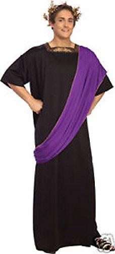 Dionysus Costume Roman Toga Costume Roman Senator Black Rubies