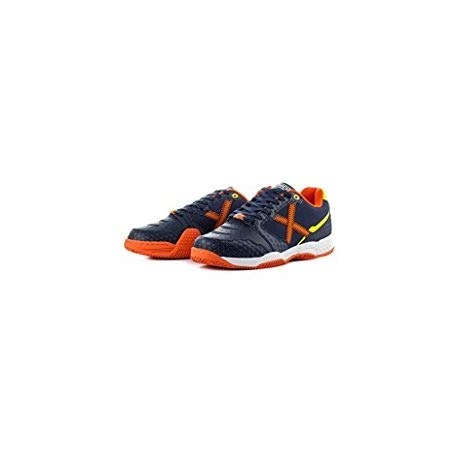 Zapatillas Munich Block Padel Marino Naranja Numero 45: Amazon.es: Zapatos y complementos