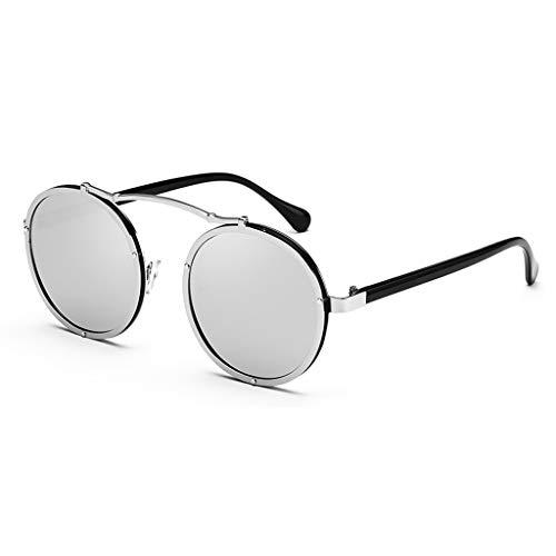 Retro soleil Couleur coréenne Soleil Nouvelles Des Femme Lunettes Marque Paragraphe Tide Sport lunettes Round de B avec de F Star Le de même nRSxRw4P