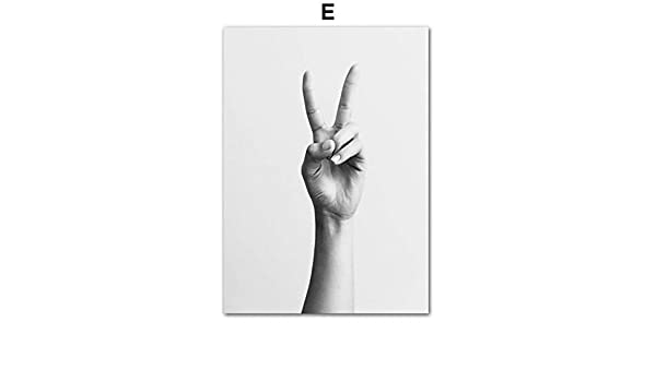 LiMengQi Cartel Vintage Blanco Negro línea Abstracta Carteles nórdicos e Impresiones Arte de Pared Lienzo Pintura Cuadros de Pared para decoración de Sala de Estar(No Frame): Amazon.es: Hogar